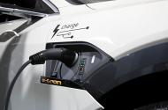 Audi e-tron car
