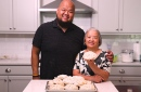 Chef Yia Vang and his mom, Pang Vang