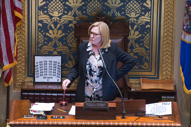 Former Lt. Governor Michelle Fischbach