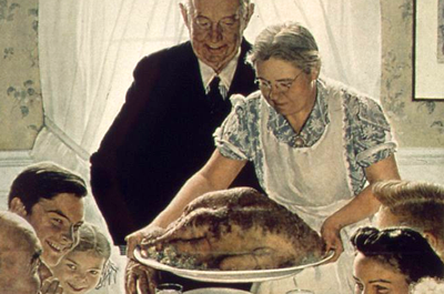 """Freedom From Want"" by Norman Rockwell"