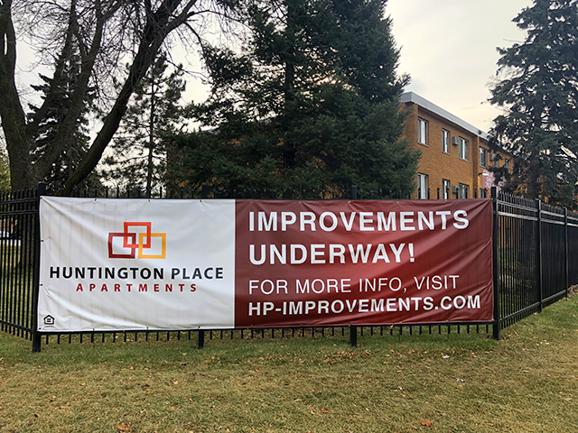 Huntington Place offers some of the area's cheapest monthly rents.