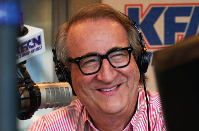 photo of mark rosen in radio studio