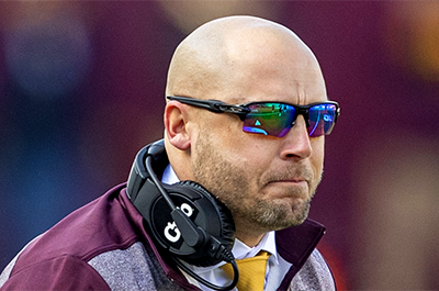 Gophers head coach P.J. Fleck