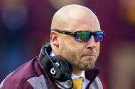 Gophers head coach P.J. Fleck