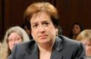photo of elena kagan during confirmation hearing