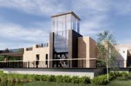 rendering of new bakken building