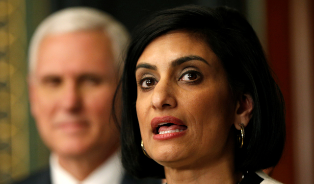 photo of cms administrator seema verma