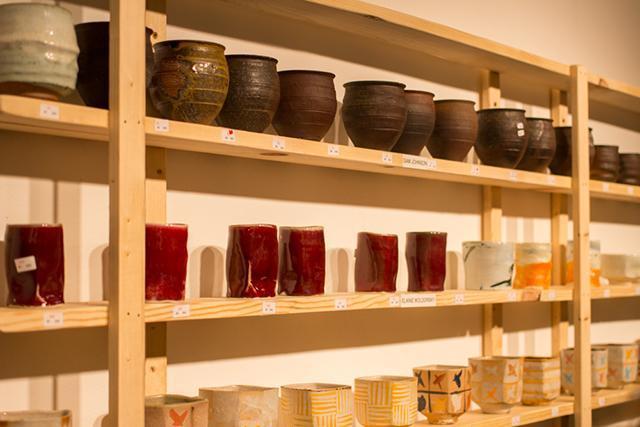 Yunomis are handleless Japanese-influenced ceramic teacups.