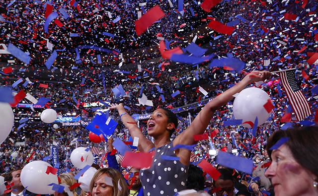 The Democratic National Convention in Milwaukee will run from July 13-16.