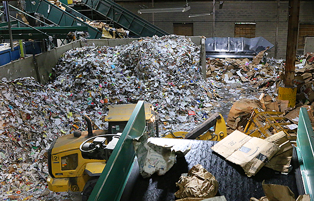 Eureka Recycling has picked up textiles in St. Paul for decades.