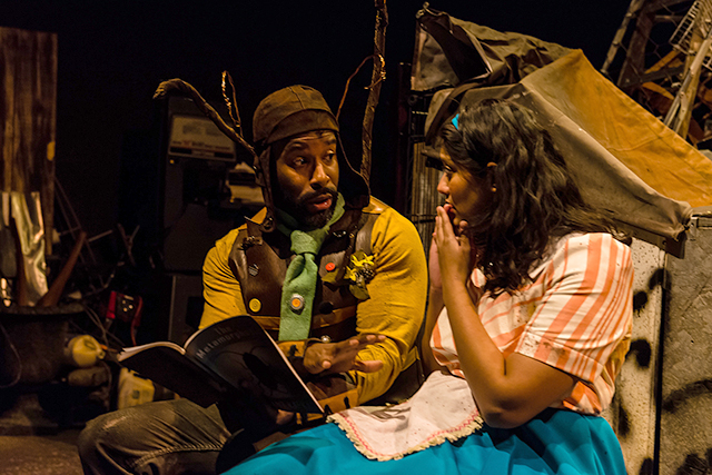 "Doc Woods and Ankita Ashrit in ""The Ever and After."""