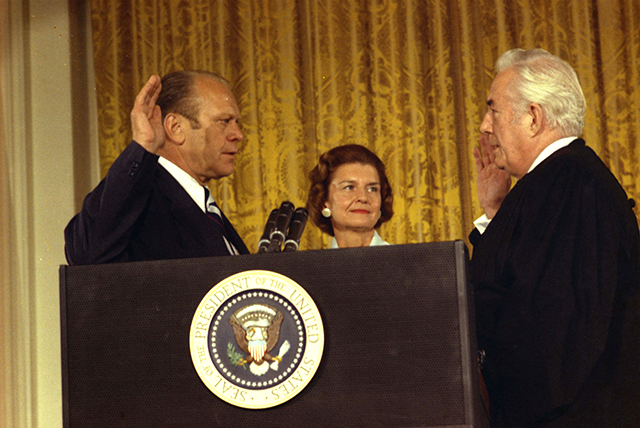 Gerald Ford swearing in