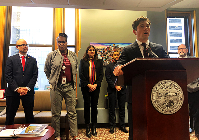 "Mayor Jacob Frey said while he appreciates all public feedback, he's thankful that he's now able to ""relay to the public the overall sentiment of the budget."""
