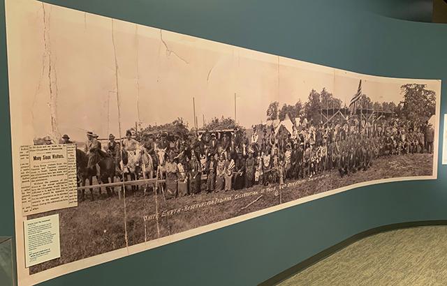 White Earth Reservation celebration. Photograph by Randolph R. Johnson. June 14, 1912.