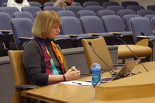 "Commissioner Jodi Harpstead apologized for the problems caused what she termed the agency's ""community partners."""