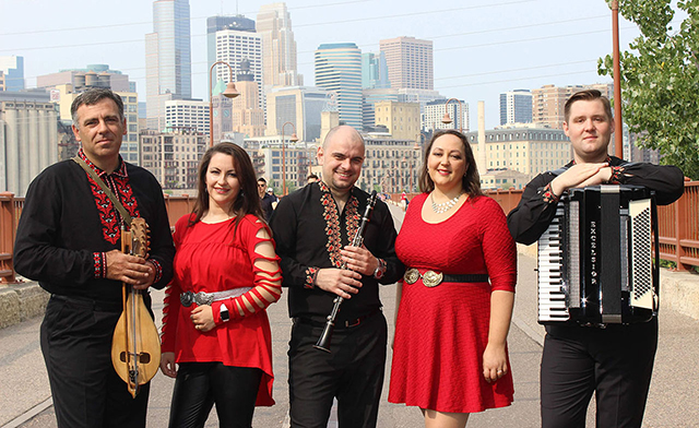 """Nomadi is one of the ensembles performing at """"Kolyada: Winter Songs from the Black Sea."""""""