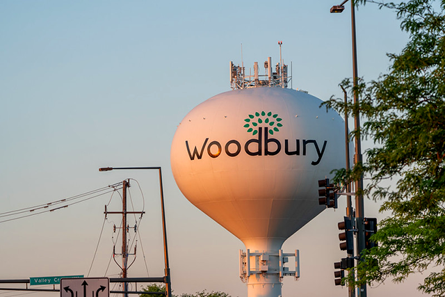 Woodbury water tower