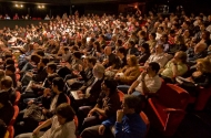 photo of audience in theater