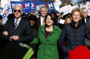 Former Vice President Joe Biden, Sen. Amy Klobuchar, Sen. Elizabeth Warren