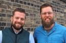 Marvel Bar owner Eric Dayton and bar manager Peder Schweigert