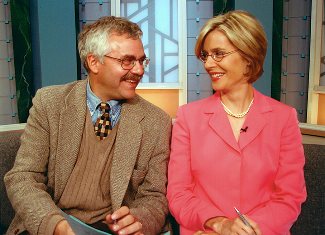 """Eric Eskola has co-hosted for 33 years, while the """"new"""" co-host, Cathy Wurzer, just completed her 25th year on the show."""