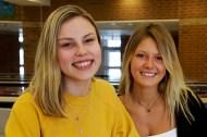 Julia Bennett, 17, and Isabella Schaak, 18
