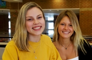 Julia Bennett, 17, and Isabella Schaak, 18