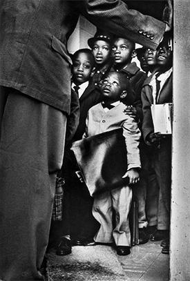 """Gordon Parks, """"Black Muslim Schoolchildren, Chicago, Illinois,"""" 1963. Gelatin silver print"""