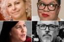 Kate DiCamillo, Natalie Diaz, Samantha Irby and Jeff VanderMeer