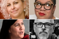 Kate DiCamillo, Natalie Diaz, Samantha Irby and Jeff VanderMeer