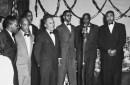 historic photo of singing group