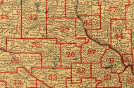 1913 district map