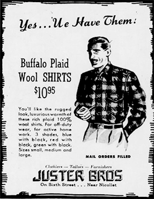 A 1944 ad in the Minneapolis Star