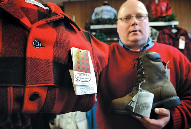 Bill Batchelder is the fourth-generation owner of Bemidji Woolen Mills.