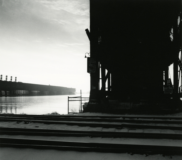 Iron ore dock, Duluth, 1987