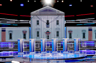 Empty Debate Stage
