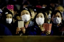 People in protective masks