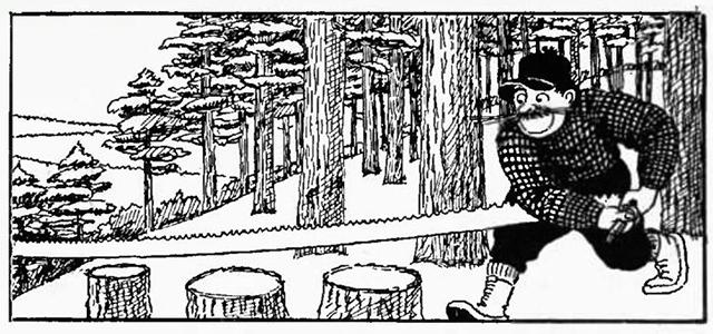 Laughead's Paul Bunyan, 1922