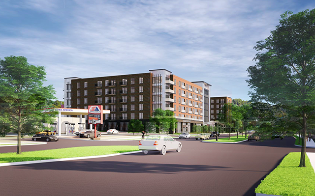 """A rendering of the proposed """"Lexington Project."""""""
