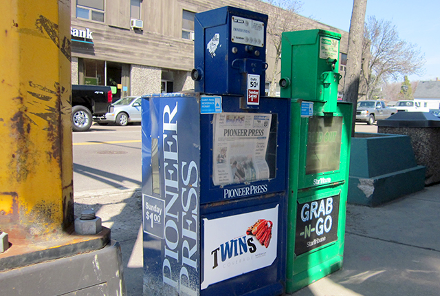 PiPress newspaper box