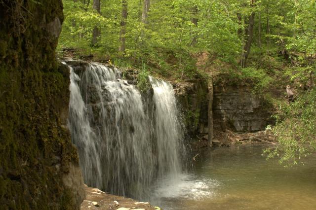 photo of waterfall