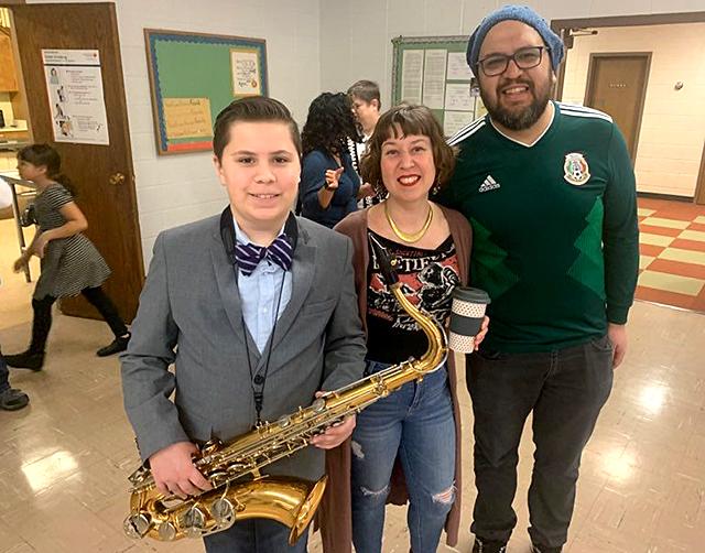 Xavier Gomez, Mari Gomez, and Omar Gomez