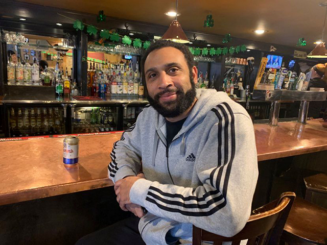 Anthony Deutsch was one of two people sitting at the bar at Blarney's Pub