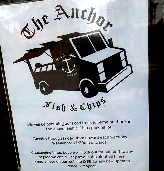 The Anchor Fish & Chips, northeast Minneapolis