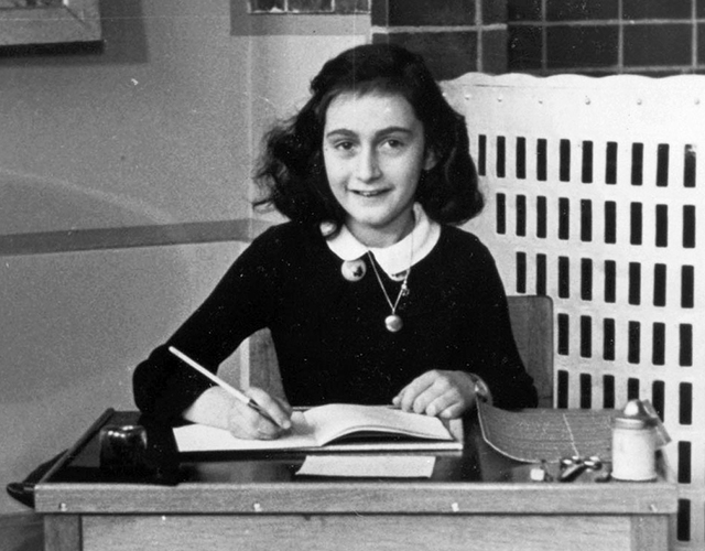 Anne Frank in 1940