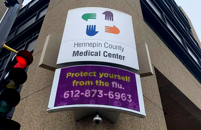 Hennepin County Medical Center, downtown Minneapolis
