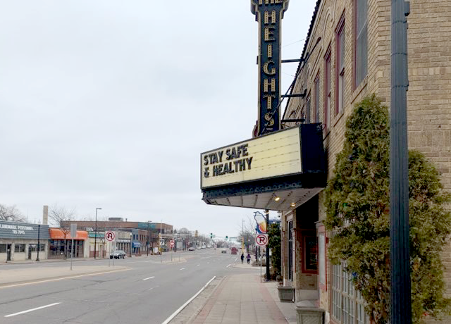Heights Theater, Columbia Heights