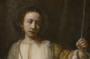 Lucretia, 1666, Rembrandt Harmenszoon van Rijn, oil on canvas