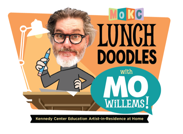"""Lunch Doodles with Mo Willems!"""