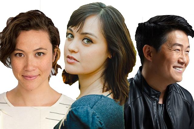 Meghan Kreidler, Leaah Nanako Winkler, Eric Sharp